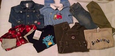 Boy Size 6 Months Fall Winter Clothes Lot of 8