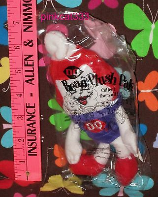 "1999 Dq Curly Top Mini Girl Plush Strawberry Sundae~8""~Dairy Queen~Stuffed~New"
