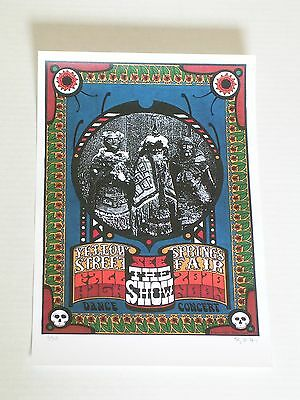 SEE THE SHOW YELLOW SPRINGS STREET FAIR Concert Poster Signed & Numbered