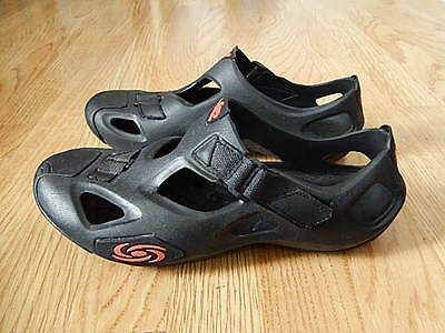 Storm Rubber Watersport Sandals Black Size 11