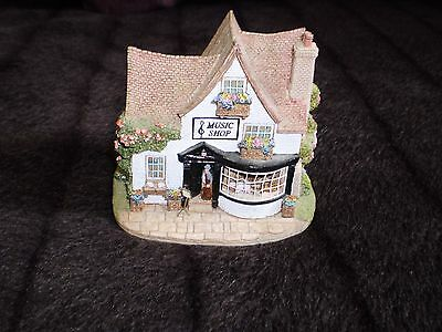lilliput lane The right note music shop