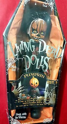 Pumpkin - Living Dead Dolls - Sealed - Series 16 - Immaculate Collectors Grade