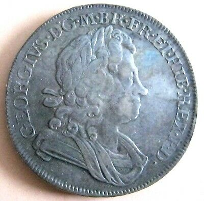 George I 1720 Crown Good Grade And Very Rare