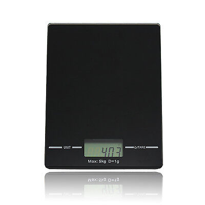 5kg Kitchen Scales Slim Design Electronic Digital LCD Cooking Food Weighing