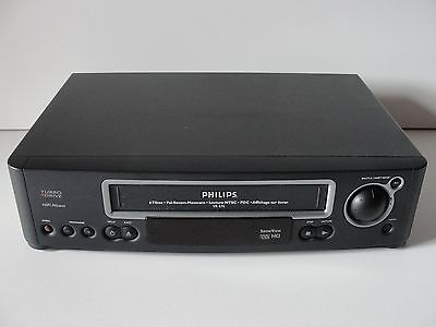 Video Stereo Recorder / Hq 6 Head - Philips Vr-676 - Lp/ntsc