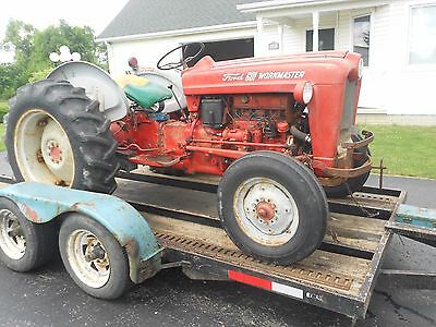 601 Ford Workmaster Tractor