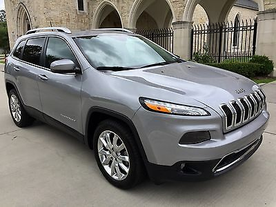 2017 Jeep Cherokee Limited 2017 Jeep Cherokee Limited, Only 20,227 Miles, One Owner, Full Factory Warranty!