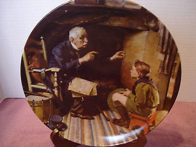 """""""the Veteran"""" Norman Rockwell Collector Plate, 1988"""