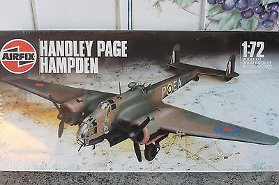 Airfix : Handley Page Hampden   in 1 / 72 scale