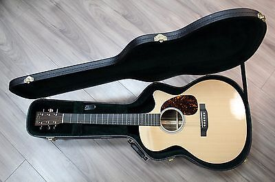 2013 Martin & Co Custom USA Natural Acoustic / Electric Guitar (Hard Case)