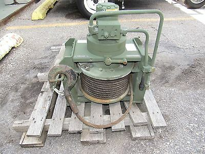 DP Manufacturing 20K-52484 - Military Winch - 20,000 LBS Capacity