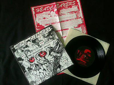 "Headcleaners - The Infection Grows EP  7"" UK  1983 VG/VG+   # Punk"