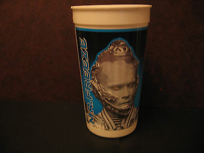 1997 Batman & Robin Taco Bell 32 oz. Plastic Cup Mr Freeze Arnold Schwarzengger