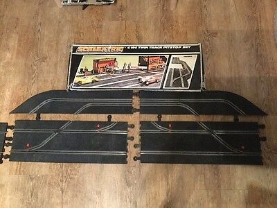 Boxed Scalextric C 190 Twin Track Pit stop Set