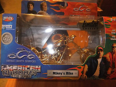 Orange County Choppers MIKEY'S GOLD BIKE [NEW]