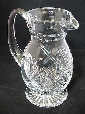 Thomas Webb Cut Glass / Crystal Glass Jug – St. Andrews Pattern