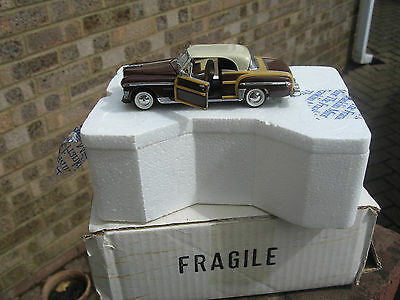 6 X Franklin Mint Models 1/43 Scale