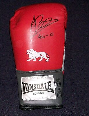 Joe Calzaghe Authentic Genuine Signed Boxing Glove