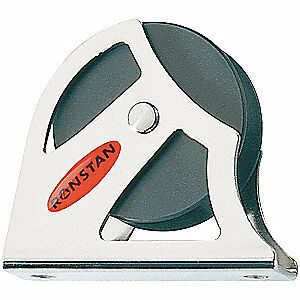RONSTAN 316SS Pulley,Flat Mount,1/2In, RF50171