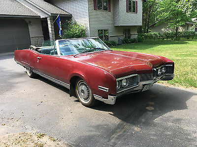 1967 Oldsmobile Ninety-Eight  1967 Oldsmobile 98 Convertible 425 Super Rocket Project Low Rider ~ NO RESERVE