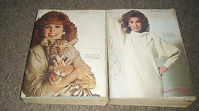 VINTAGE SEARS CATALOG Lot of 2 STEPHANIE POWERS from 1985