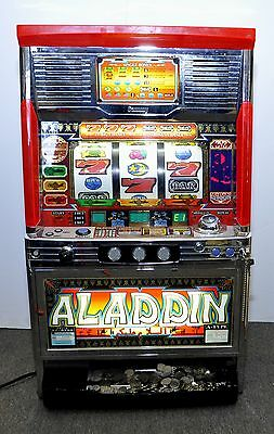"Sammy ""Aladdin"" Token Casino Slot Machine with Coins NO SHIPPING"