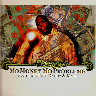 "Notorious B.I.G. ‎– Mo Money Mo Problems ft Mase & Puff Daddy 1997 12"" Vinyl"