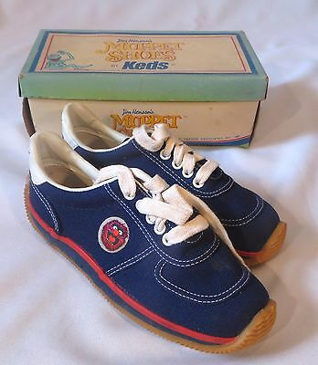Vintage Keds Shoes Sneakers Muppets Jim Henson Animal 1 M Kids