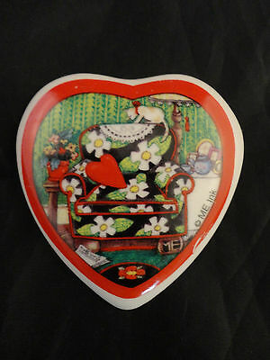 Mary Engelbriet Heart Shaped Magnet