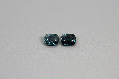 0.995 Cts NATURAL ~RICH SPARKLING BUR-MESE TOP BLUE UNHEATED RARE SPINEL PAIR~!!
