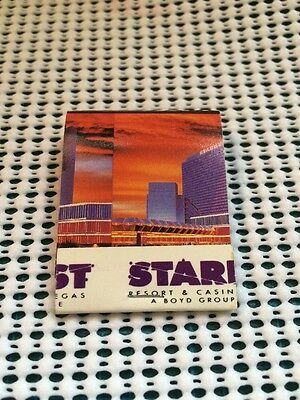 Stardust Resort & Casino Las Vegas Vintage Matchbook Match cover