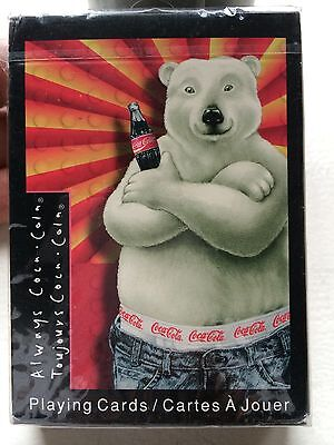Coca-Cola Polar Bear sealed Deck Of  Playing Cards