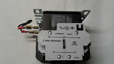 CUTLER HAMMER C25DNF340 40A Definite purpose contactor includes part C320KG13