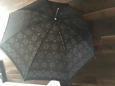Black Vintage Wedding Umbrella