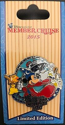 NEW Disney Vacation Club DVC DCL Member Cruise 2015 Pin LE2000