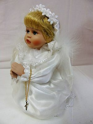 PRAYING ANGEL Porcelain Doll 1999