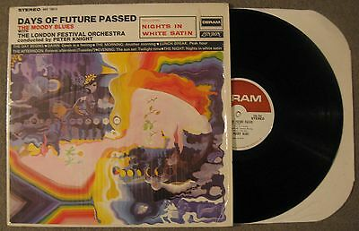 "Moody Blues-""Days of Future Passed"" LP Justin Hayward-Music>Records-Rock-Great!"