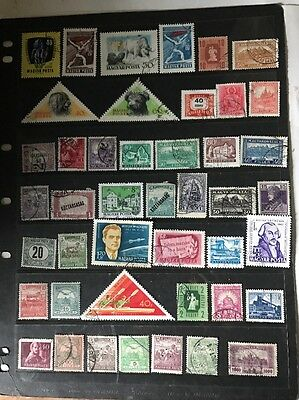 stamps  Hungary - Used - Lot 321