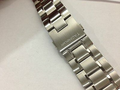 Tag Heuer Sports Stainless Steel Gents Replacement Watch Strap,22Mm,(Tag-19)
