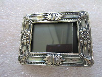 Vintage Miniature silver picture frame Made in Holland