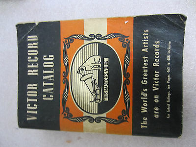 Victor Record Catalog, The Complete Catalog for 1940 - 1941, RCA Manufacturing
