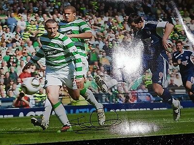 Hand Signed Ross County Football Pic