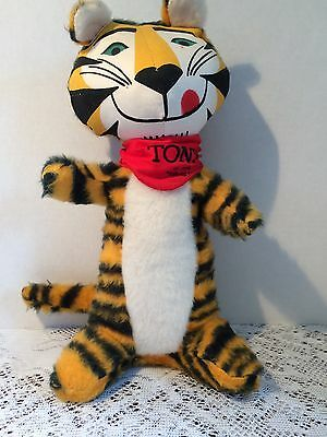 Kellogg Co TONY THE TIGER Frosted Flakes Cereal Advertisement Doll Premium 1970