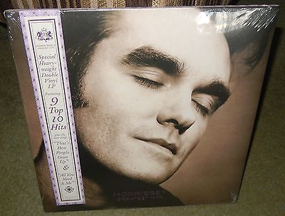 Morrissey Greatest Hits Special Heavy-Weight Double Vinyl Lp ~ Still Sealed