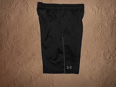 Under Armour Men's Black Mesh Shorts SMALL