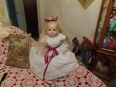 """Reborn Toddler by Donna Rubert """"Cuddles"""" Nicole vinyl with the look of porcelain"""