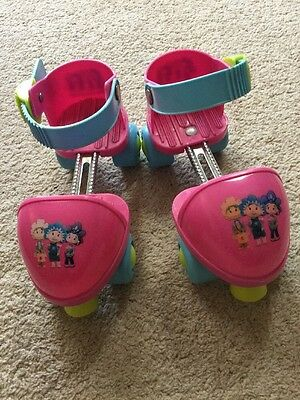Fifi and the Flower Tots Rollerskates And Pads Size 7-12