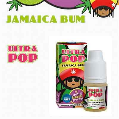 Liquido Ultra Pop By Vaporart Jamaica Bum Puro Estratto Di Marijuana (Cannabis)
