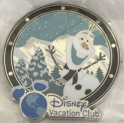 NEW Disney Vacation Club DVC Member's Cruise OLAF Pin