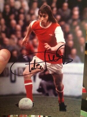 Signed Charlie George photo